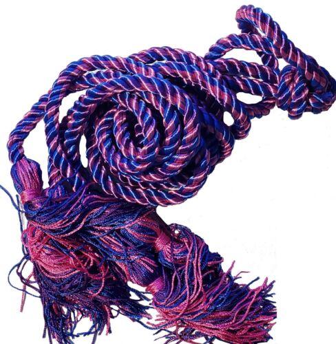 Honor Cords for Graduation Academic Regalia Rainbow Bi Trans Lavender Purple Lot