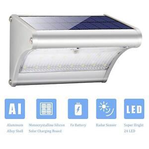 Design-Led-Solar-Wandleuchte-Solarleuchte-aussen-mit-Bewegungsmelder-7-Auswahl