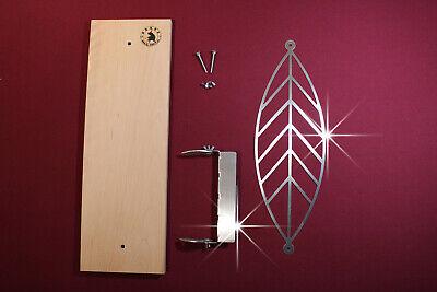 Offizielle Website El-torro 1 X Flammlachsbrett Vilja + Halter 6mm Flammlachs Qualität Topp