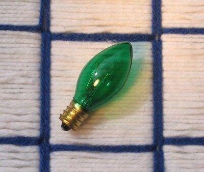 BOX of 24 new BLUE C9 CERAMIC opaque 7C9 CHRISTMAS /& 7w STRING 130v LIGHT bulb