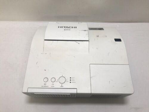 Hitachi CP-A222WN LCD Projektor Mixed Lampenbetriebszeit Gebraucht Siehe Bilder
