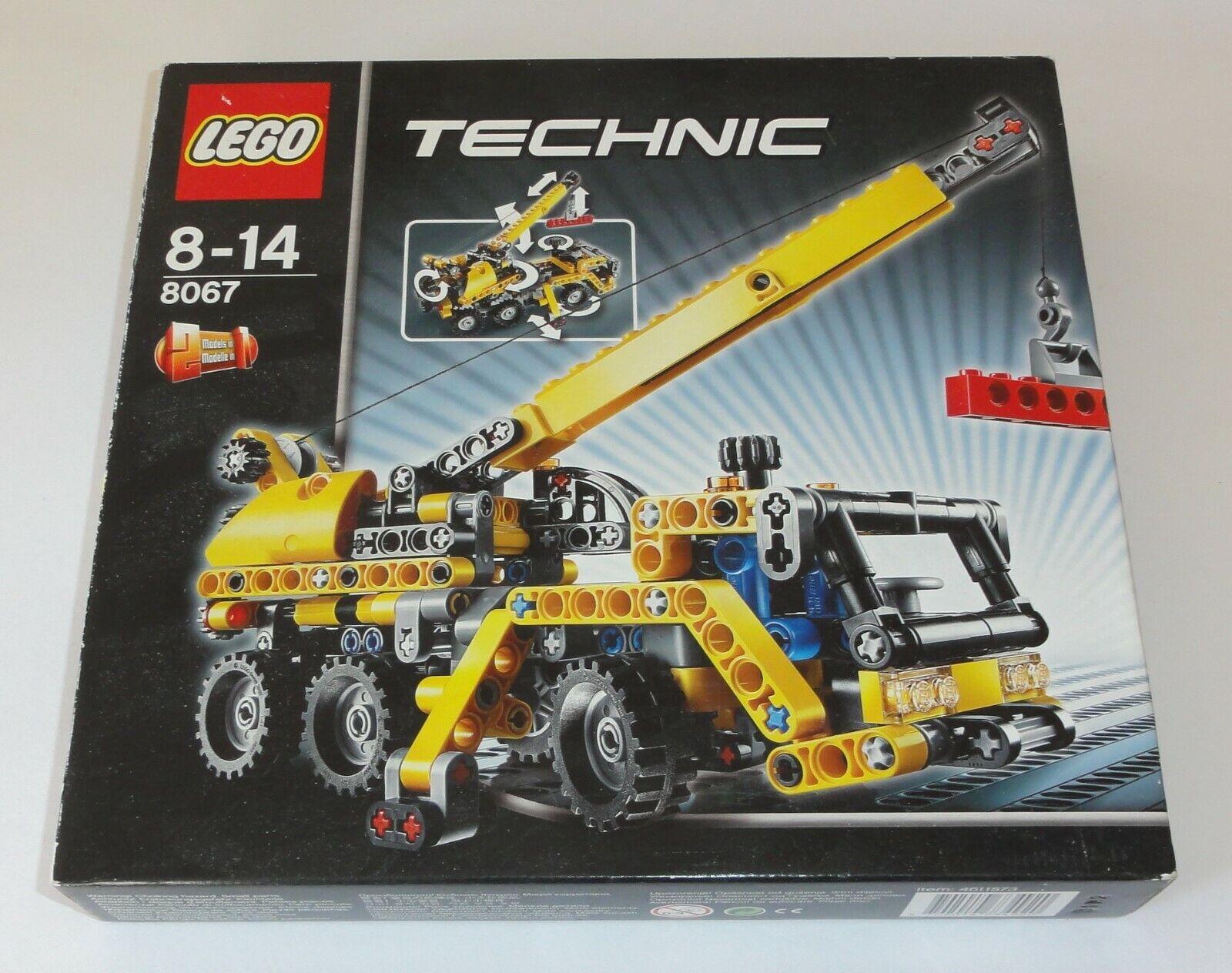 LEGO Technik Technic Mobiler Kran Nr.  8067 NEU & OVP