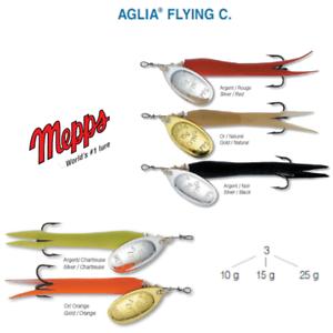 MEPPS AGLIA FLYING C 10 g 15 g 25 g 5 couleurs TRUITE SAUMON BROCHET BAR