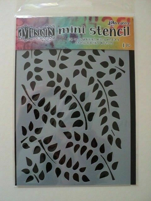Dylusions Stencils Fronds of Foilage Large