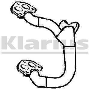 Klarius Exhaust Front Pipe For Catalytic Converter 301595-5 YR WARRANTY