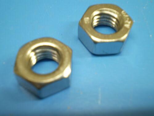 5 écrous 5 Ressort Anneaux galzn 8.8 5 Hexagonal Vis DIN 933 m7 x 50 mm