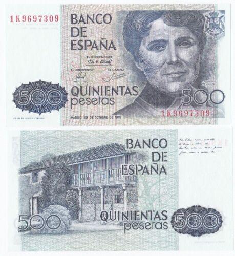 Gem UNC Spain P-157 1979 500 Pesetas