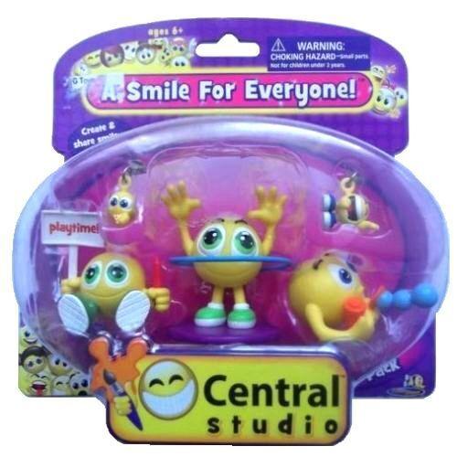 Childrens chiffres Smiley central smiley face ludique Pack Kids Cadeau Neuf