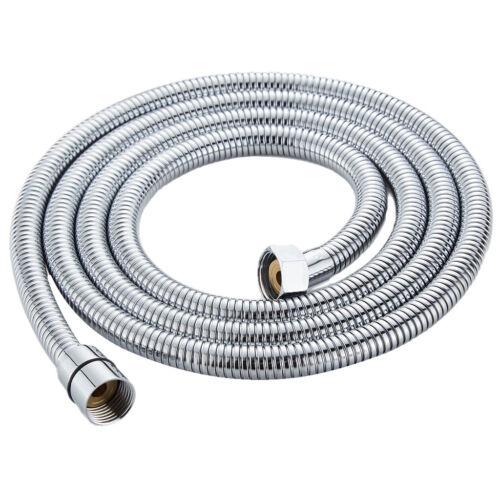 2 Meter Flexible Shower Hose Stainless Steel Bathroom Water Head Pipe