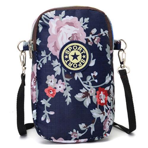 Fashion Women Mobile Phone Bag Case Pouch Cross Body Purse Mini Shoulder Bags