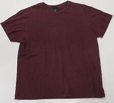 POLO RALPH LAUREN T-Shirt Dark Purple Mens Large L Short Sleeve Black Label Crew