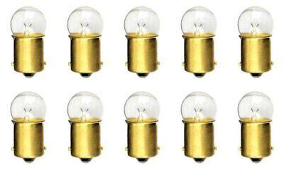 10PK #81 MINIATURE LAMP// LIGHT BULBS 6.5V G-6 BA15S Base 1.02Amps Light Bulb*L