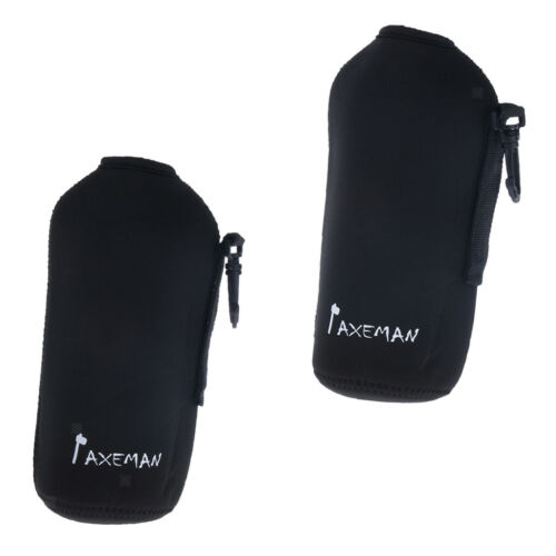 2pcs Camping Cycling Water Bottle Cover Neoprene Insulated Sleeve Bag Pouch