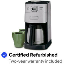 Cuisinart Grind & Brew Thermal 10 Cup Automatic Coffeemaker - DGB-650BC
