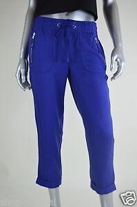 coupe bleu Pantalon 4 femmes taille décontractée décontracté Msrp la court pour New 79 à Inc qHw0I5q