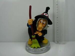 sorciere,Halloween witch,elle rigole  G26//28 poupée 29cm,objet de légende