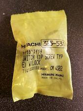 HITACHI 325531 SWITCH (1 P SCREW TYPE) W/LOCK FOR DRY CUT MASONRY SAW