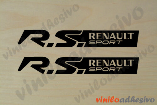 PEGATINA STICKER VINILO RS Renault Sport ref2 autocollant aufkleber  adesivi