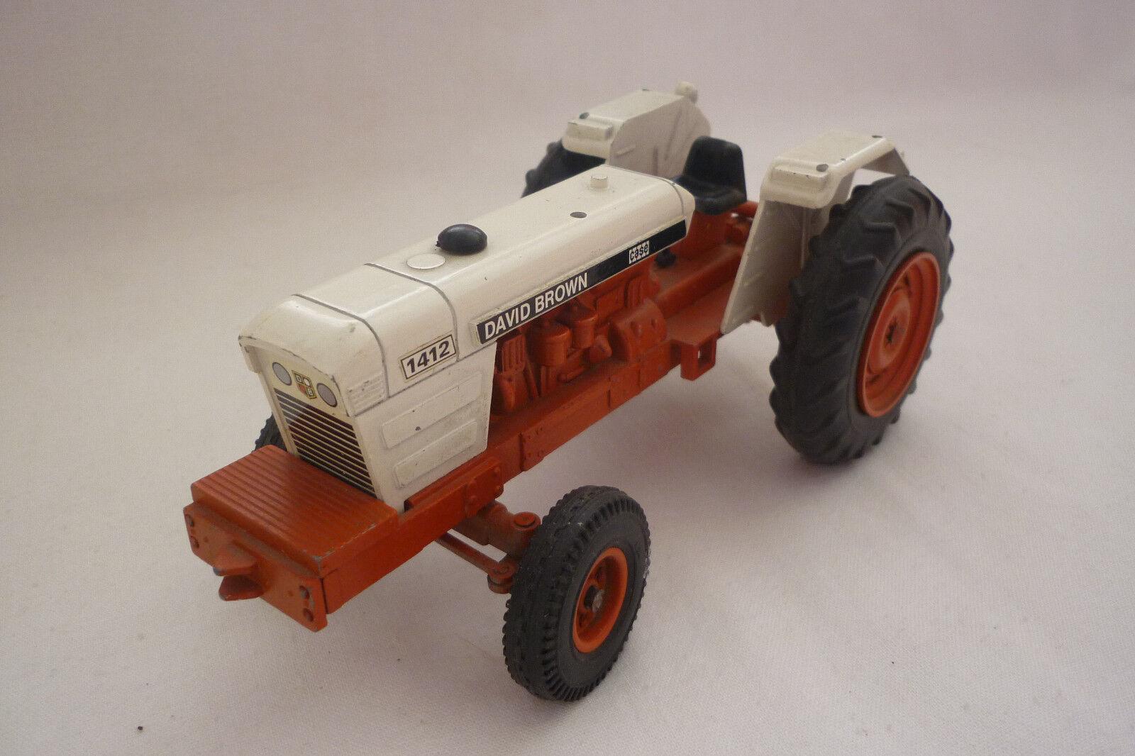 Nzg - Modéle en Métal - David marron 1412 - Tracteur - 1 25 - (7.BM-292)