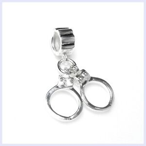 d60208477 Image is loading 925-Sterling-Silver-Hero-Police-Officer-Handcuff-Bead-