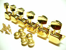 Schaller Original F-Series / 70s Tuners Mechaniken 6 links gold
