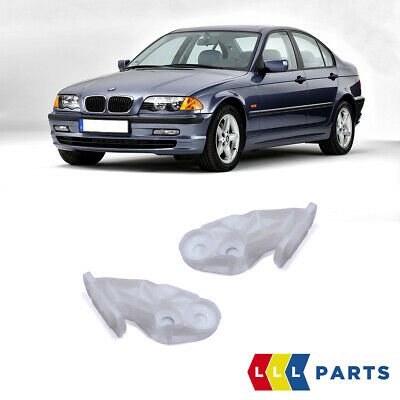 Genuine BMW 3 Series E46 1999-2006 Front Bumper Cover Mount Supports PAIR