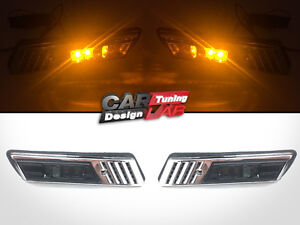 Smoke-LED-Side-Marker-Light-Fits-BMW-E30-E32-E34-E36-1991-1996