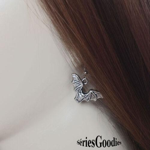 bijou halloween Boucles d/'oreilles pendentif chauve souris symbole des vampires