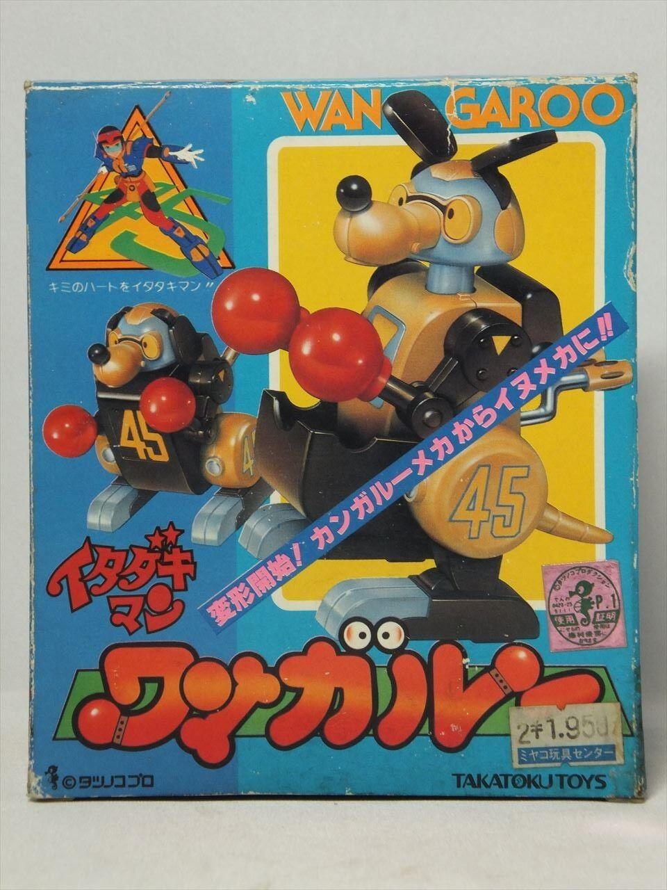 Vintage '80s ITADAKIMAN WANGAROO Takatoku Toys Japan Super Rare yatterman