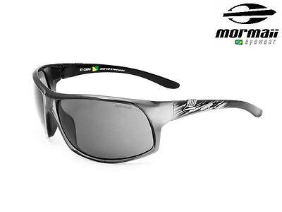 New Mormaii El Cabo Mens UV 400 Fashion Sports Grilamid Sunglasses Grey Frame