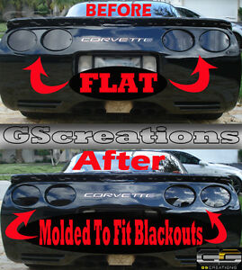 Blackout lights for cars