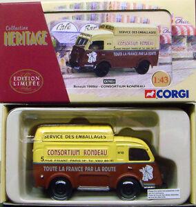 Corgi-EX70531-frances-Heritage-1-43-Renault-1000-kg-consorcio-Rondeau
