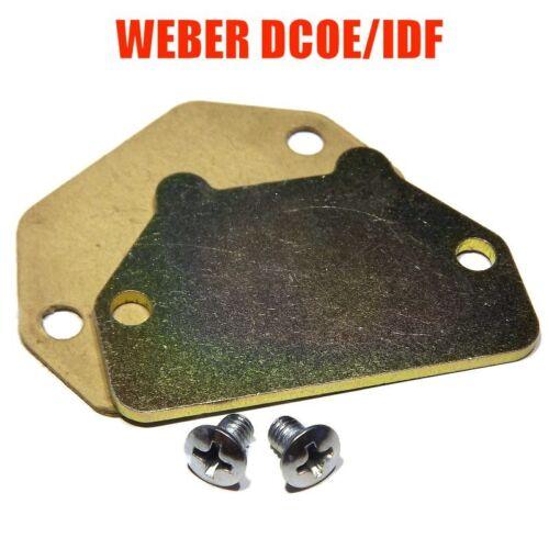 COLD START CHOKE COVER SET for WEBER 40/45 DCOE/DCOM 40/44/48 IDF DCNF EMPI