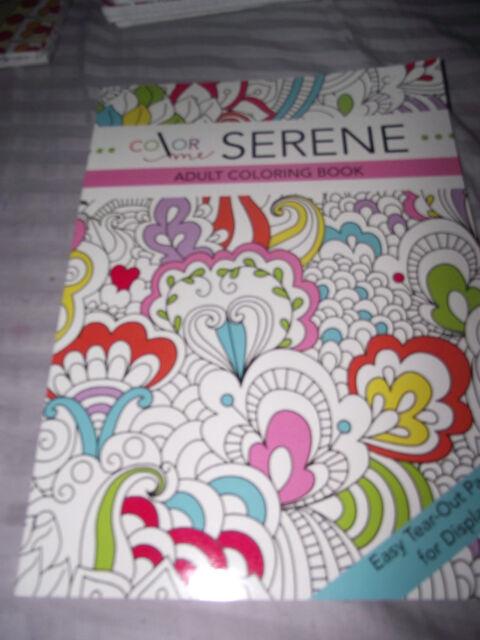 3 Adult Coloring Book Color Me Serene Mandala Meditation And