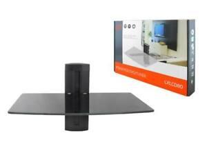 Wall-Mount-Shelf-Floatings-Glass-Bracket-For-Xbox-PS4-Sky-TV-DVD-Shelves-Stand