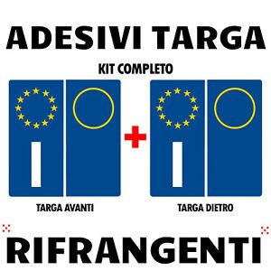 Adhésif Vinyle Plaque D'Immatriculation Emblème Voiture Europe Method Tamis Vie