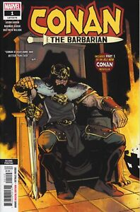 CONAN-THE-BARBARIAN-1-NM-2019-2nd-Second-PRINT-VARIANT