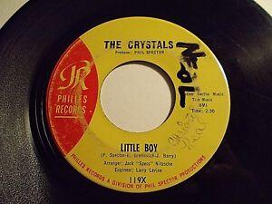 The-Crystals-Little-Boy-Harry-amp-Milt-45-1964-Philles-Vinyl-Record