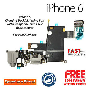 best cheap 10a02 21828 Details about NEW iPhone 6 Replacement Charging Dock Lightning Port +  Headphone Jack + Mic