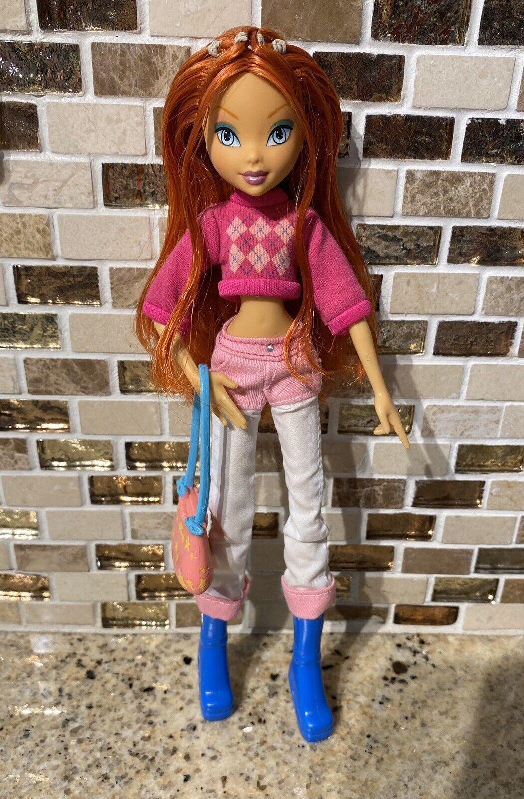 Winx Verein Shopping Day Bloom Mattel Doll NOOB