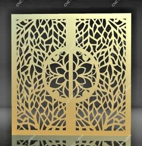 Image is loading Nice-steel-gate-door-DXF-DWG-and-EPS- & Nice steel gate door DXF DWG and EPS File For CNC Plasma Router ...