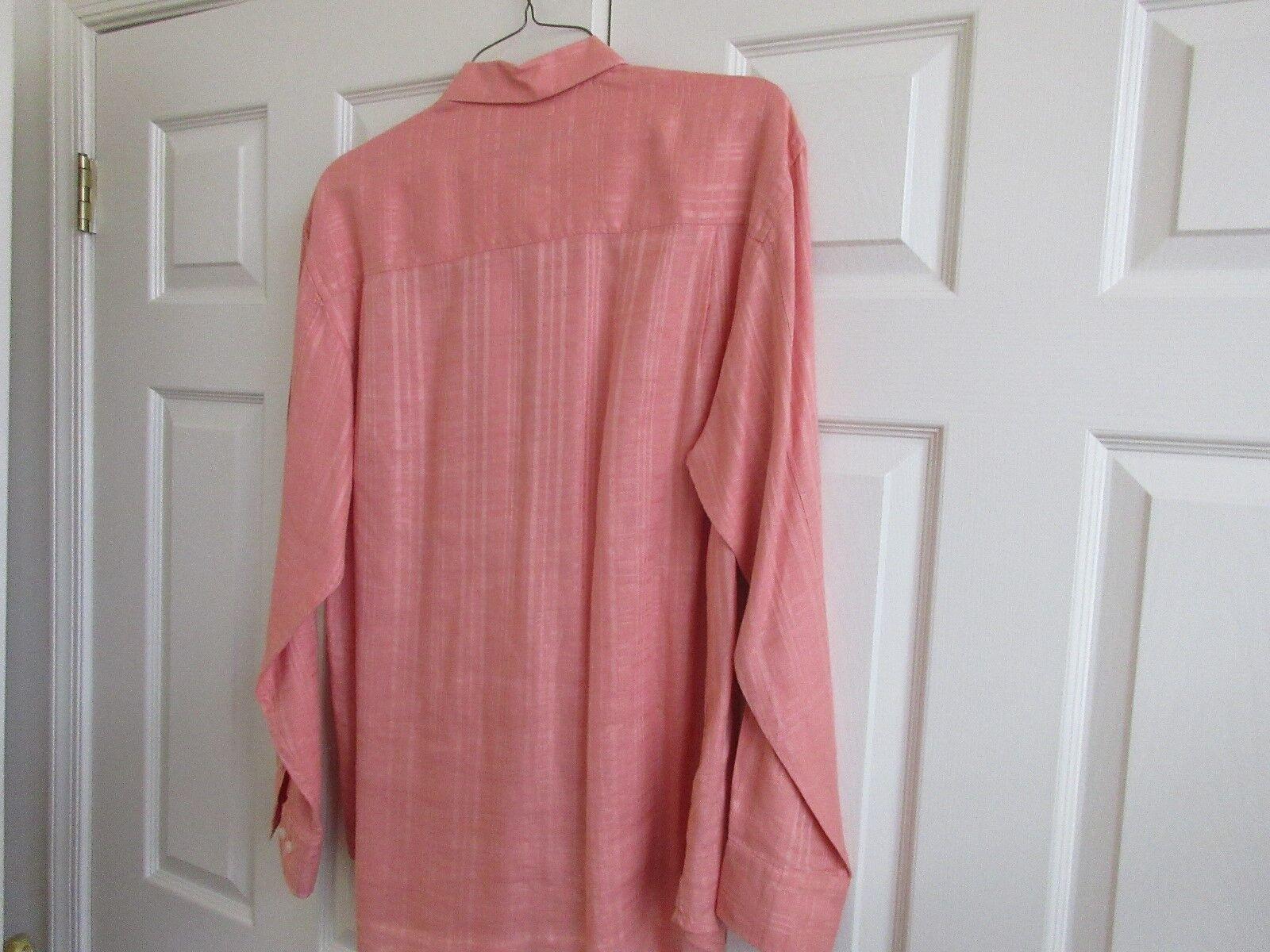 Tommy Bahama , Size L/G , Long Sleeve Shirt , 100% Line