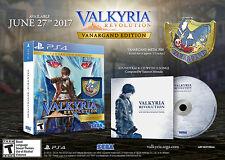 Valkyria Revolution Vanargand Edition PS4 Playstation 4 Video Game New