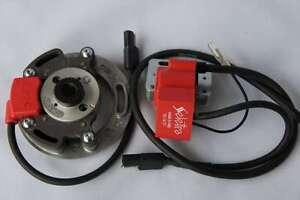 Zündapp CS 50 Zündung inkl Adapterplatte Dmon 00131270 hpi PVL CS Kokusan KZ
