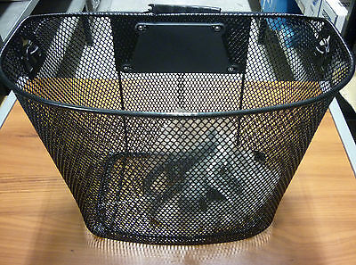 CESTINO BICICLETTA NERO BIKE BASKET BICYCLE BASKET BLACK 588160161