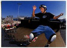Cesar Mora Inline Skater #32 Fleer Adrenaline 2000 Silver Text Card (C309)