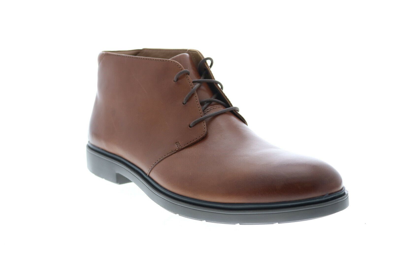 Clarks Un Tailor Mid 26144678 Mens Brown Leather Lace Up Chukkas Boots