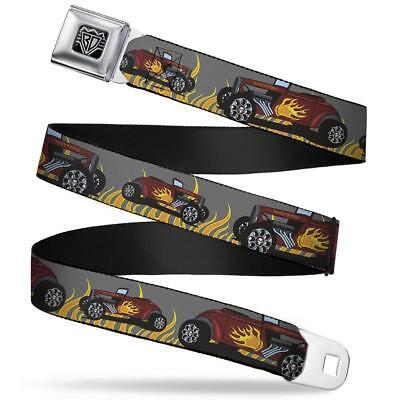 Hot Rod Gürtel Seatbelt Style Edelstahl Sicherheitsgurt Us Car Racing Rockabilly