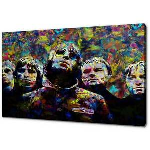 OASIS LIAM NOEL GALLAGHER CANVAS PICTURE PRINT MODERN WALL ART FREE DELIVERY
