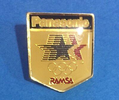 Very Rare Vintage 1984 Los Angeles Olympic Games Panasonic Sponsor Lapel Pin 036